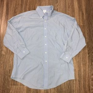 Brooks Brothers Slim Fit Non-Iron Button Up, 17 33